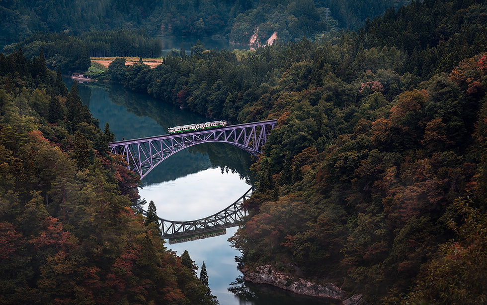 Tadami Line Fukushima - Nicolas Wauters Japan Photographer