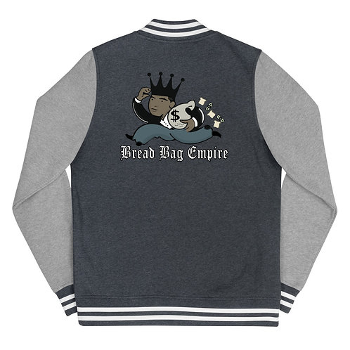 Bread Bag Empire Women's Letterman Jacket