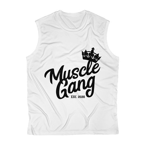 Muscle Gang Men's Sleeveless Performance Tee