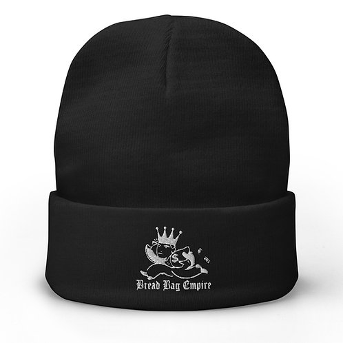 Bread Bag Empire Embroidered Beanie