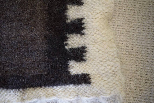 Traditional Wool Throw Blanket Rug Made To Order