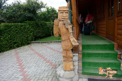 Carving at guest house-imp