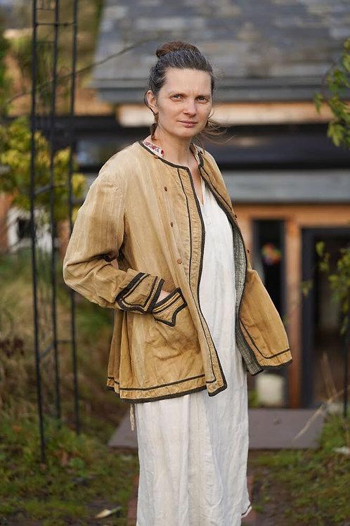 Vintage folk jacket from central Ukraine