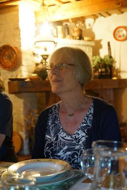 Sue's 77th birthday party in Romania