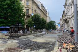 Repair of streets with UNESCO money-imp