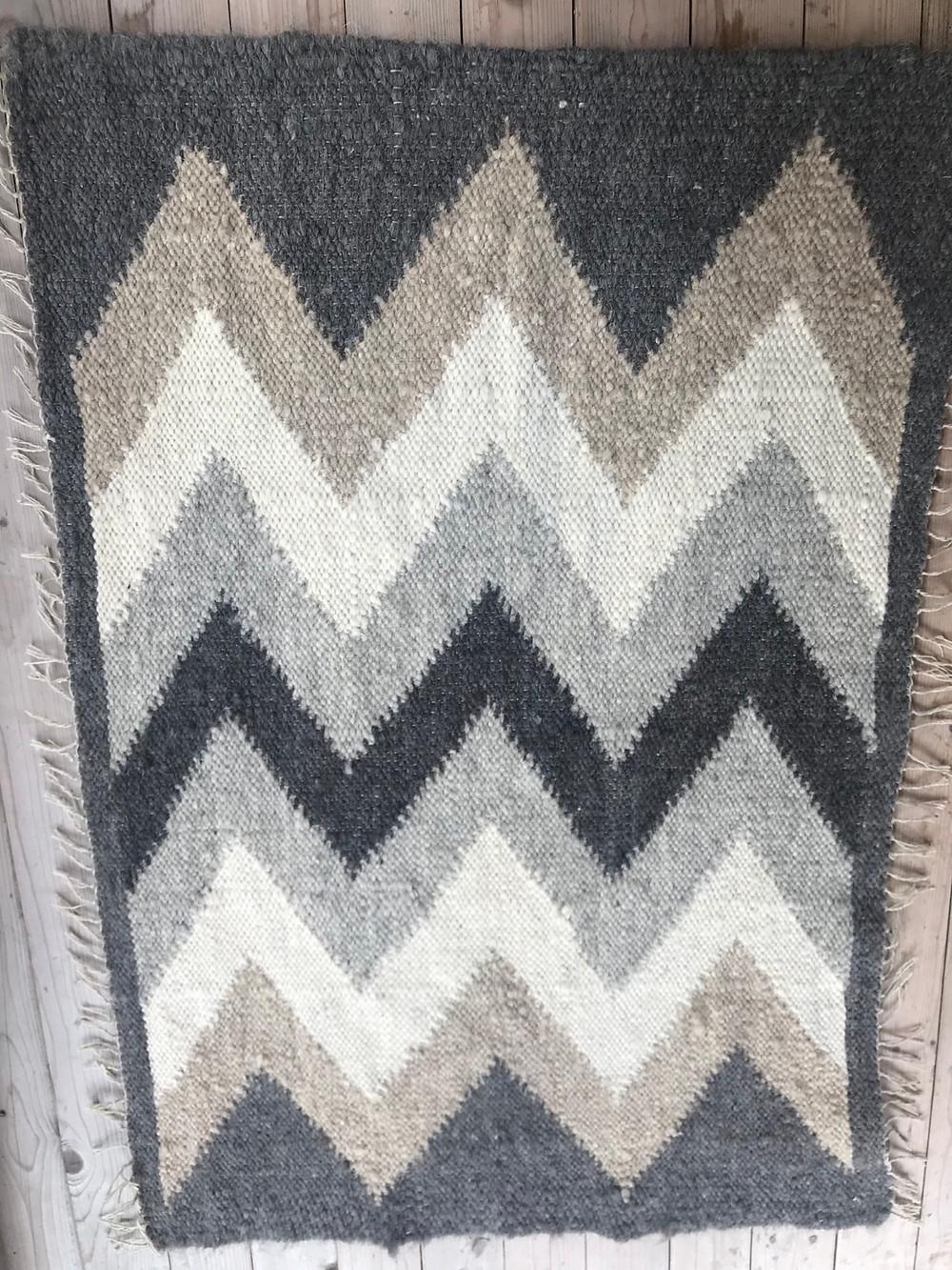 Wool rug called Lizhnyk made by Liz