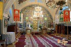 Inside blue church-imp
