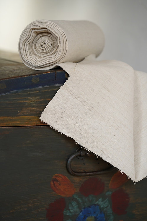 Vintage linen on a roll