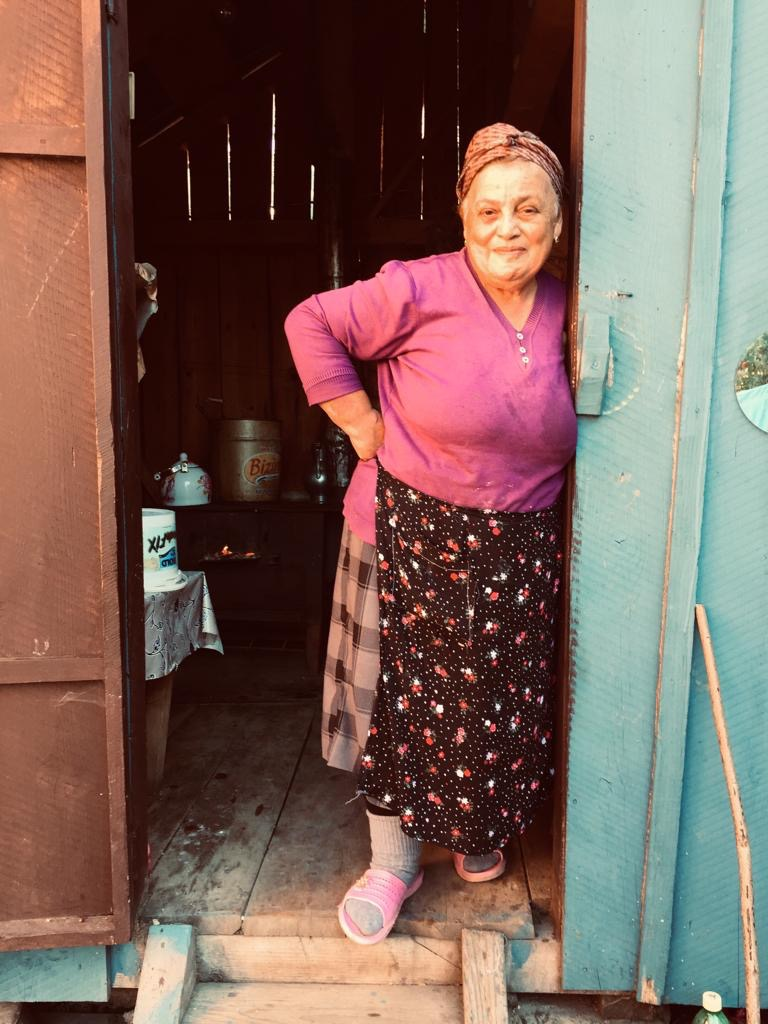 Woman in Tago, September 2019