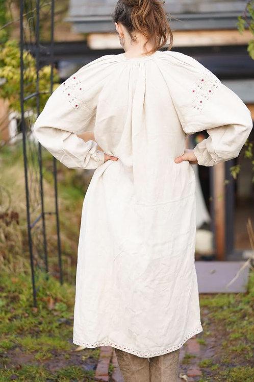 Rare vintage hemp dress