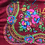 Thumbnail: Vintage head scarf/ shawl with floral design