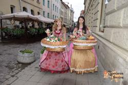 Flower girls at Lviv-imp