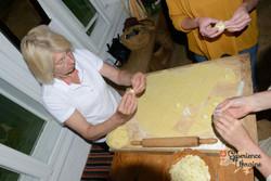 Christina making pastry-imp