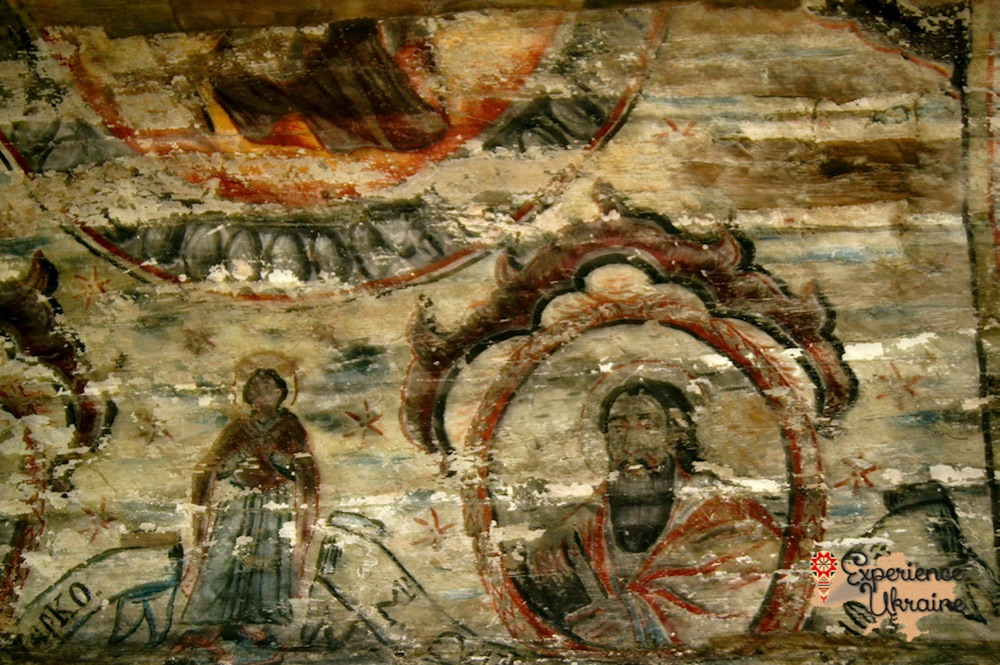 Murals in 17th century church