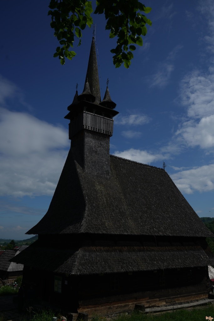 Wooden church in Romania