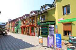 Shopping area of Verhovyna