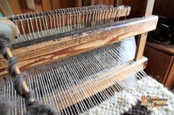 Wooden loom for Lizhnyk weaving
