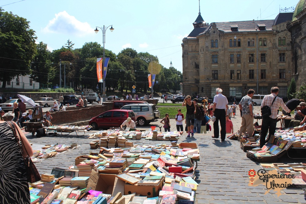 Book market in Lviv