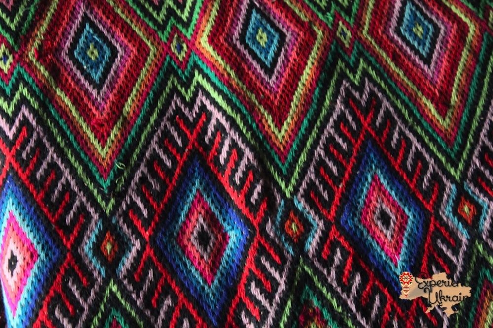 Transcarpathian handwoven textiles
