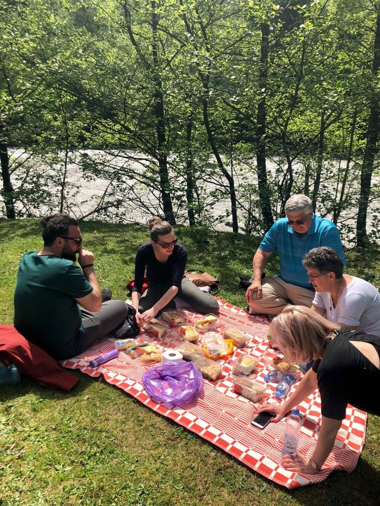 Picnic in Svaneti, May 2019