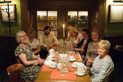 Dinner in Atlas Restaurant in Lviv