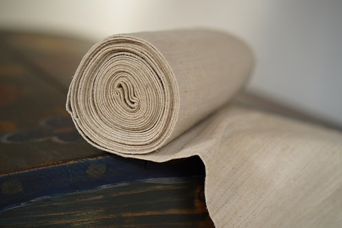 Hand spun and handwoven vintage linen from Ukraine