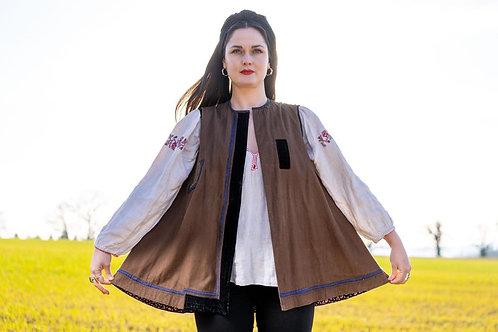 Vintage waistcoat from Ukraine