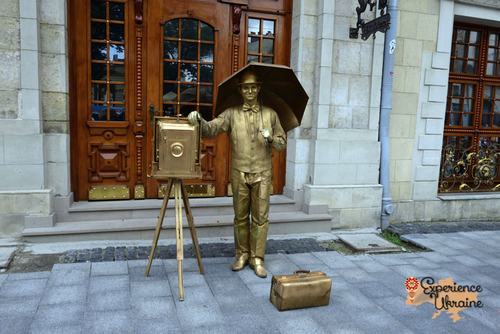 Golden camera man Lviv-imp