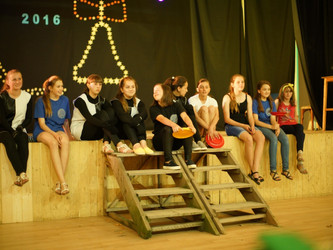 """Sophisticated, mature and poignant"" ukrainian village youth theatre."