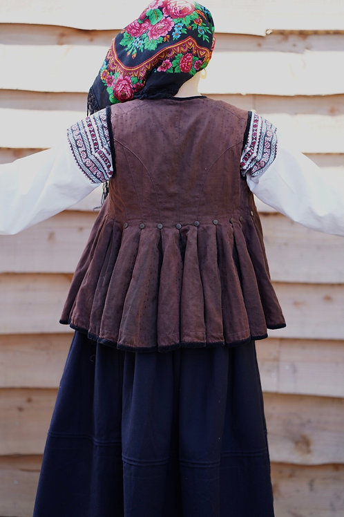 Vintage waistcoat from Poltava Region