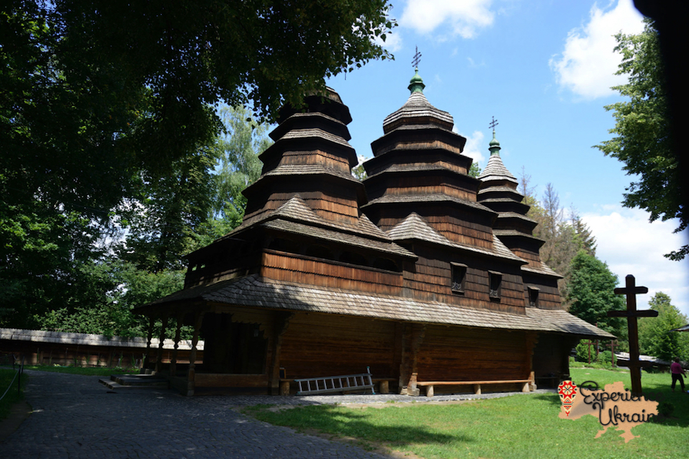 Ukrainian wooden church LR-imp