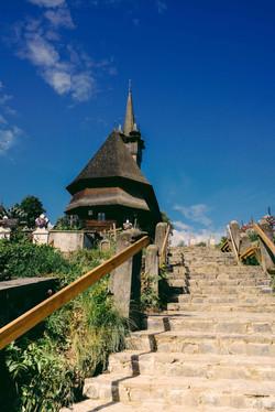 Wooden church in Romania