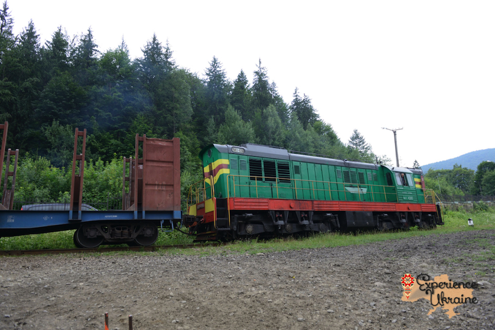 Ukrainian diesel locomotive-imp