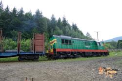 Ukrainian diesel locomotive-imp