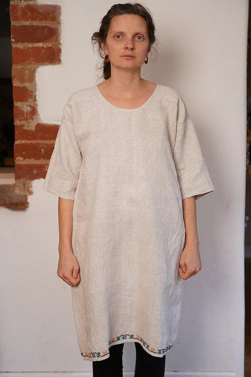 Vintage hemp dress