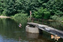 Kids diving in reservoir-imp