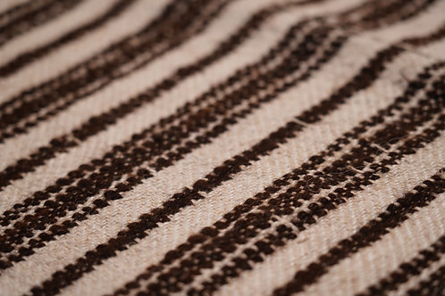 Vintage soft hemp and wool throw from Carpathians