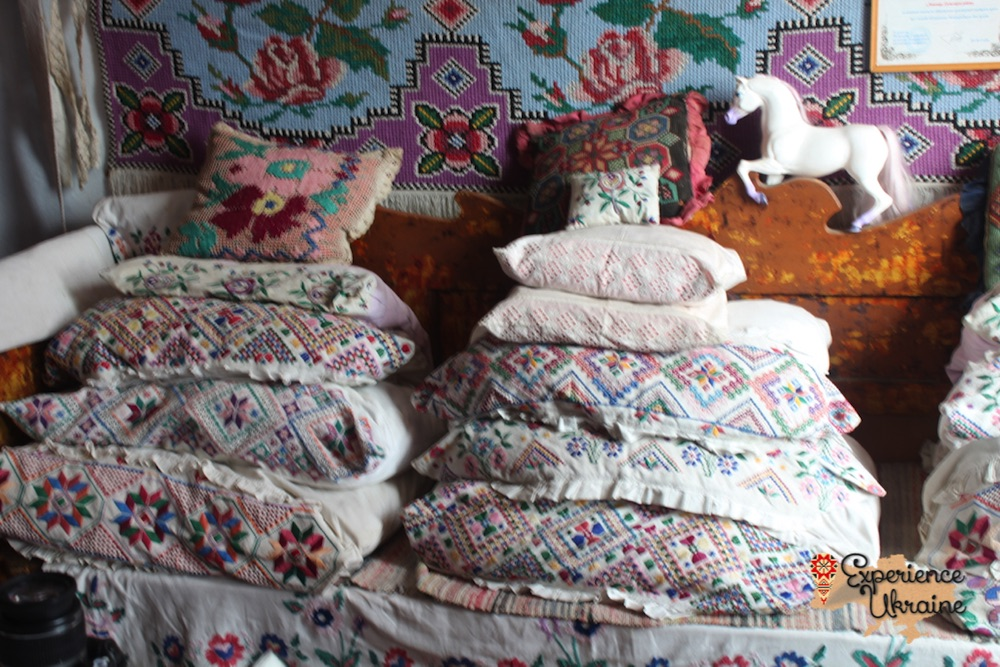 Ukrainian hand embroidered cushions