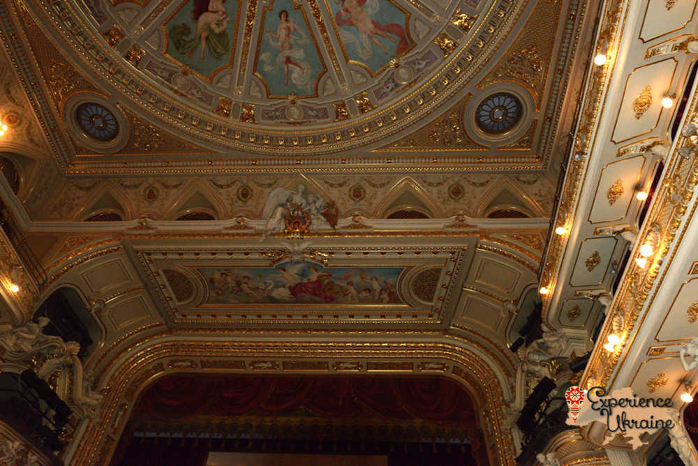 Ceiling of the Lviv Opera Hosue-imp