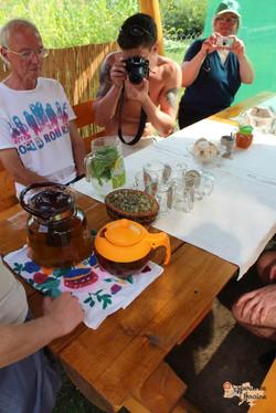 Herbal tea in Nyzhnie Selyshche