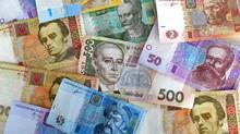 Money exchange in Ukraine.