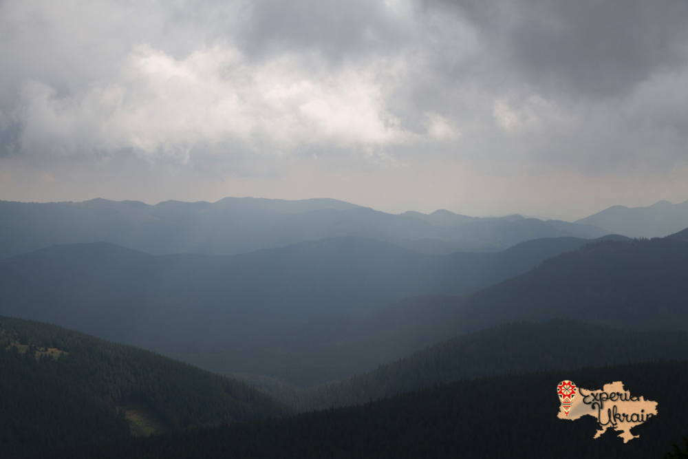 View from Hoverla