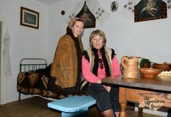 Nataliya and Moreen wearing trad coats-imp
