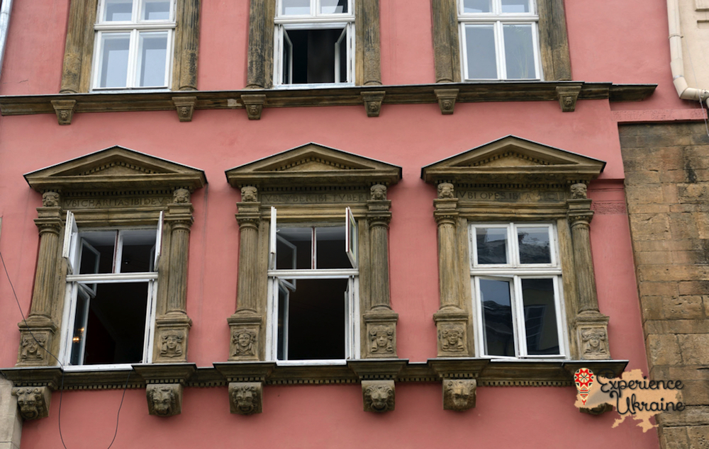 Three windows at Lviv-imp