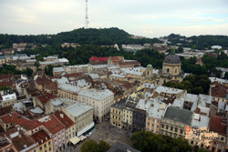 View of Lviv from Townhall LR-imp