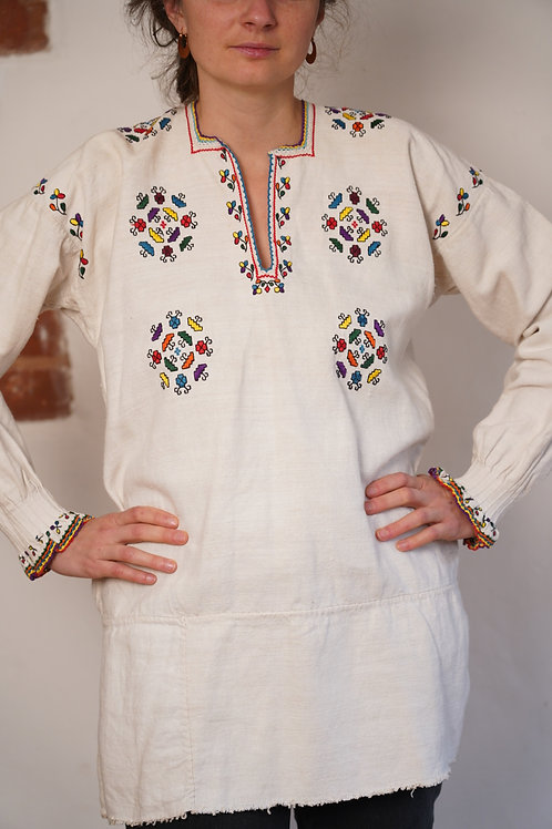 Vintage hand embroidered top from Ukraine