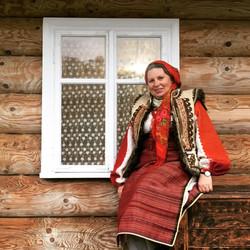 Antique Hutsul clothing