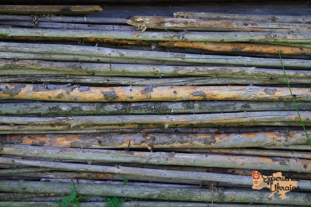 Wooden textures of Carpathians