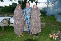 In blankets at Longo Mai-imp