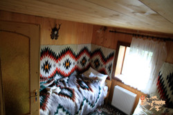 Inside our guest house in Dzembronya